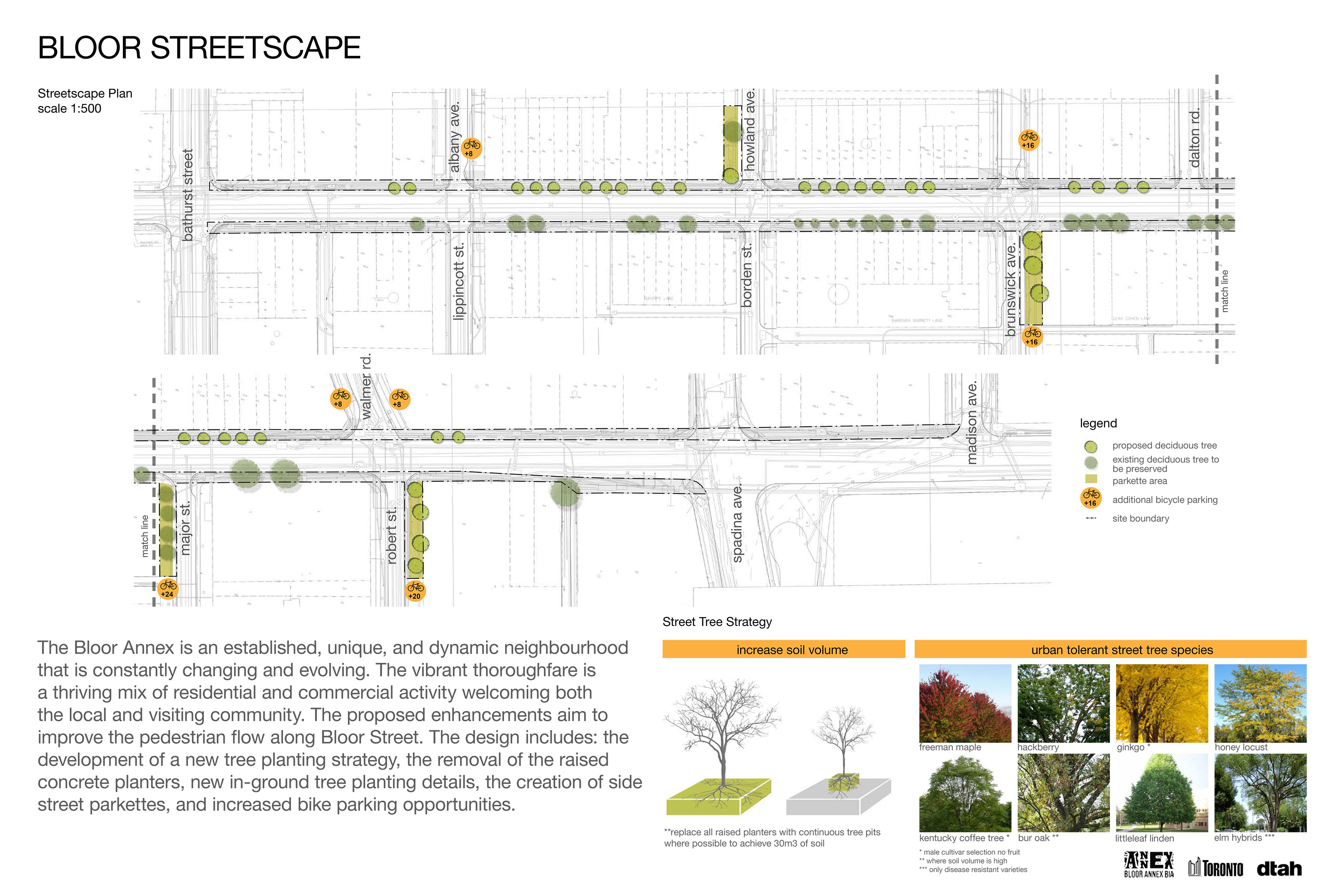 Plans for Bloor Streetscape